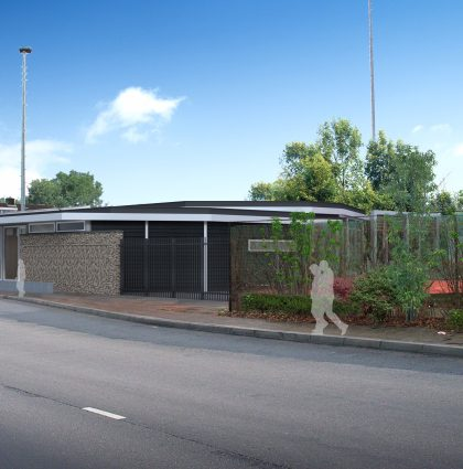 Renovatie clubhuis   GTC Overwaard te Gorinchem