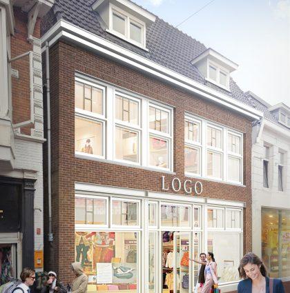 Renovatie winkelpand De Heurne te Enschede