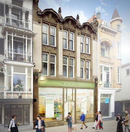 Renovatie winkel en bovenwoningen| Heuvelstraat te Tilburg