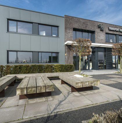 Nieuwbouw kantoor en bedrijfsruimte | Rien Boom Transport te Schelluinen