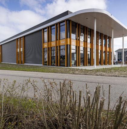 Bedrijfsgebouwen Remonpark te Schelluinen